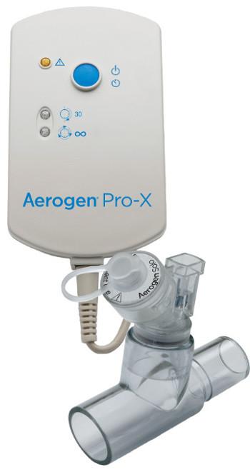 Aerogen Solo Kontrollmodul mit Solo Vernebler und T-Stück für Erwachsene