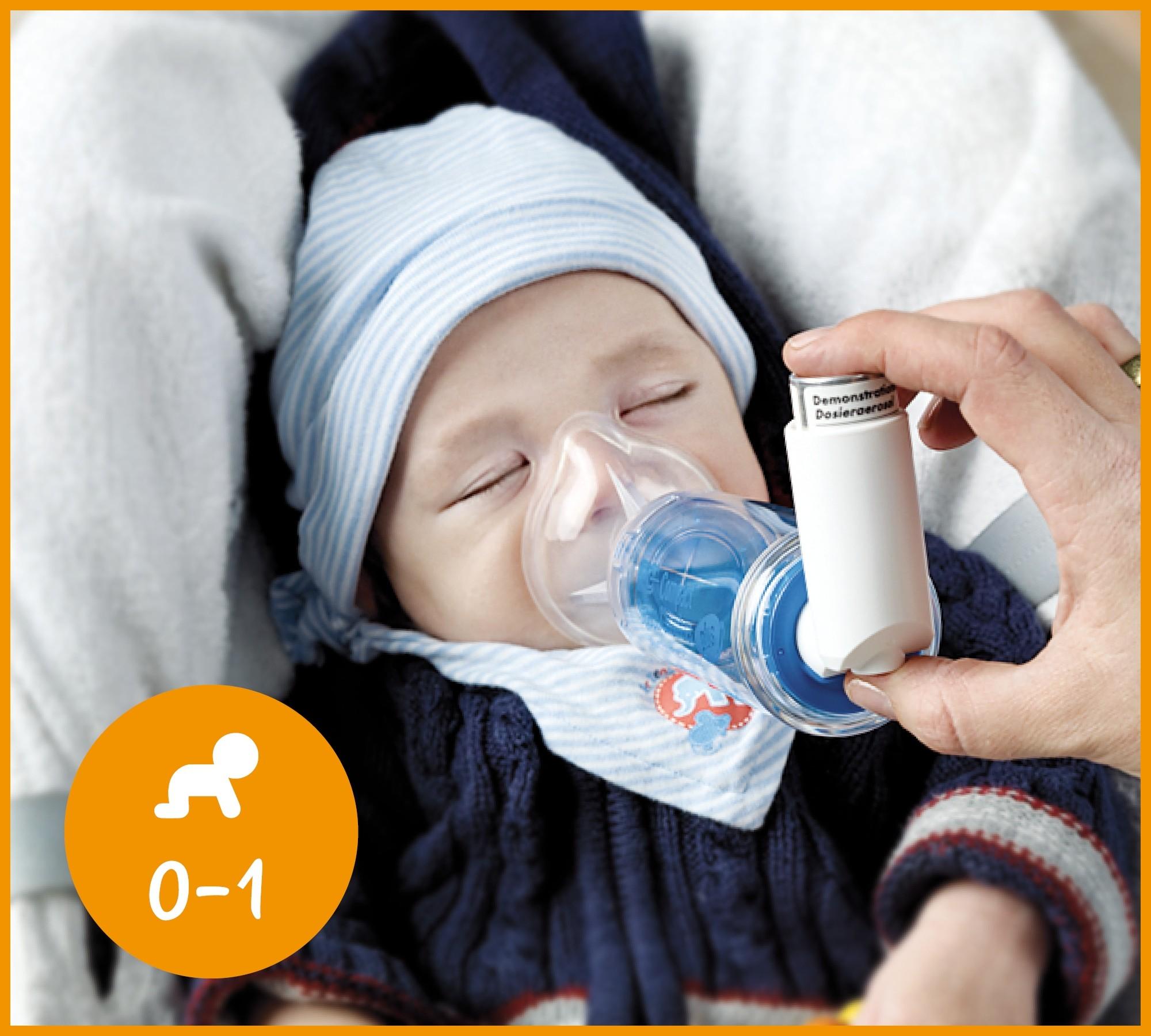Inhalierhilfe Medikamentensprays