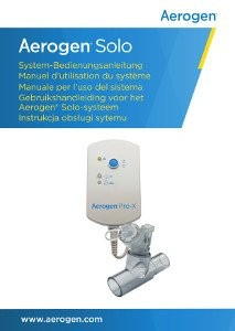 Bedienungsanleitung für Aerogen (Aeroneb) Solo AG-AS3050