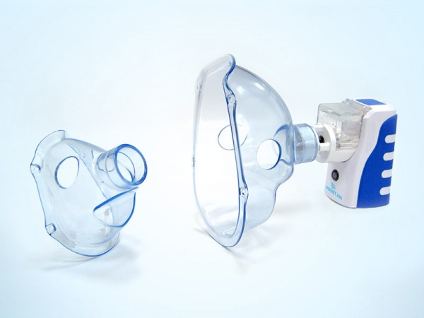 Inhalator Pocket Air Inhalationsgerät Medikamentenvernebler Nebulizer