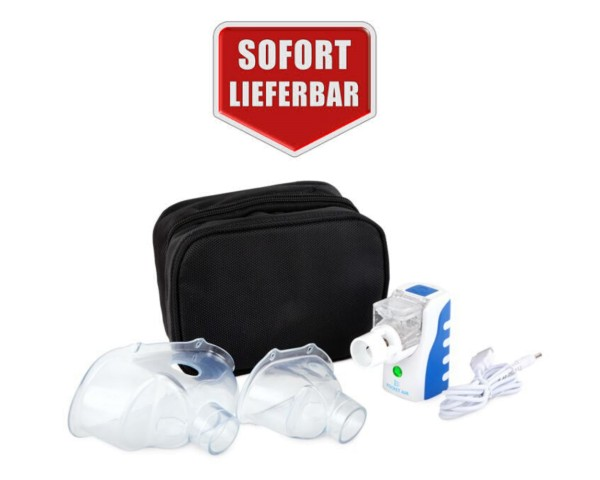 Inhalationsgerät Inhalator Pocket Air auch für Antibiotika und hypertones NaCl
