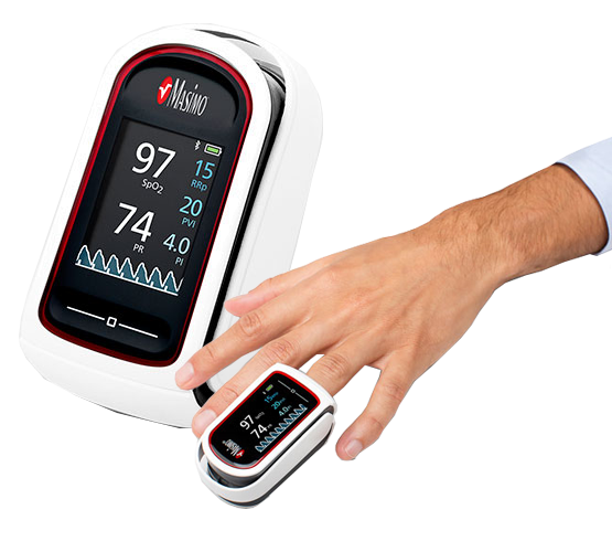 Masimo MightySat Rx SET w/Bluetooth Fingerpulsoximeter