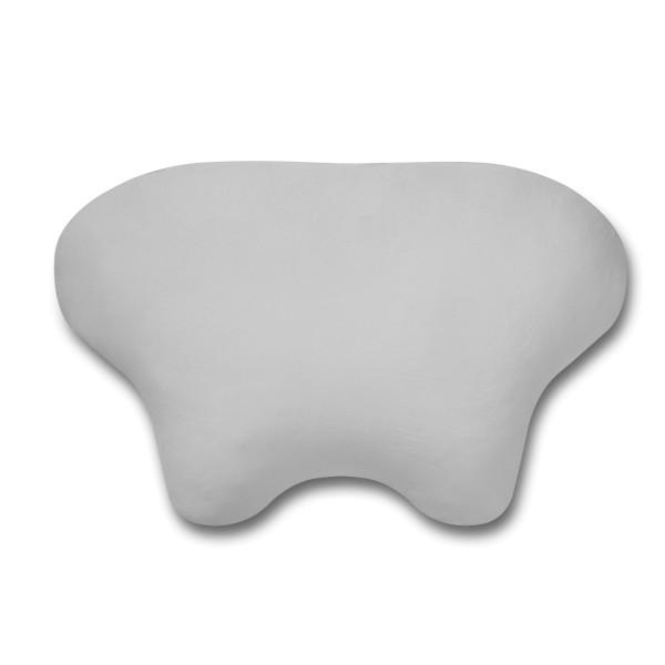 Kissenbezug aus Baumwolle für CPAP Kopfkissen LINA von Nachtwächter in der Farbe grau