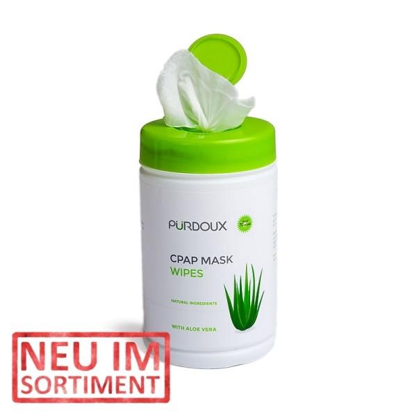 CPAP Masken Reinigungstücher Aloe Vera 70 Stück