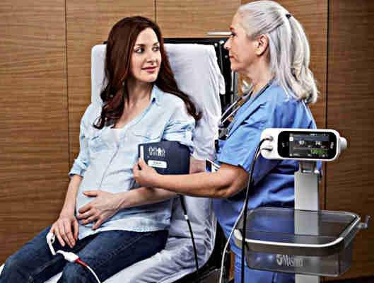 Blutdruck messen mit Masimo Rad 97