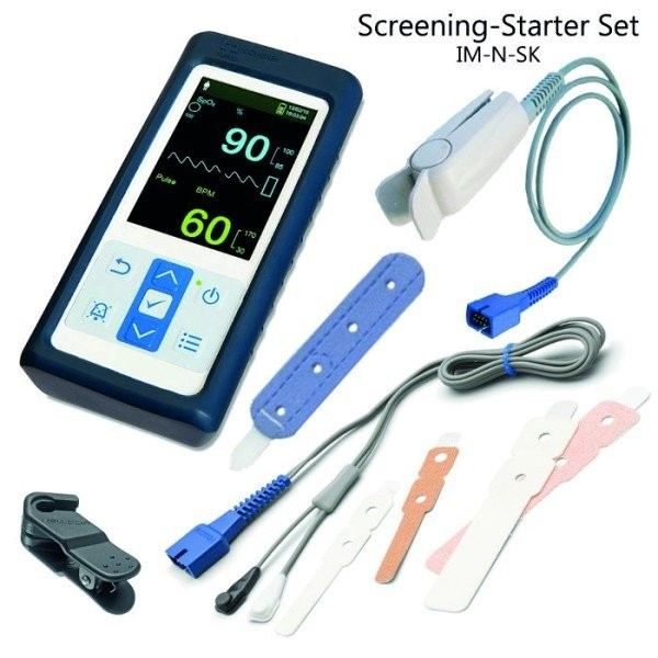 Nellcor Screening Kit für Kinderärzte (Pulsoximetrie Screening bei Neugeborenen)