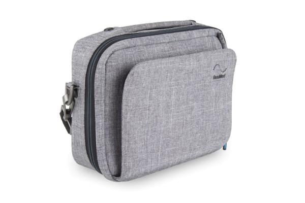 ResMed Premium Reisetasche Transporttasche für AirMini CPAP-Gerät geschlossen