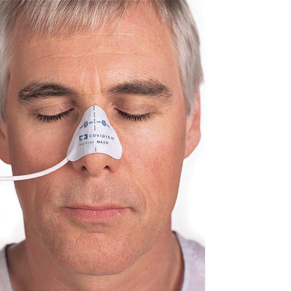 Nellcor OxiMax SpO2 Klebesensoren für die Nase geeignet ab 50kg Körpergewicht