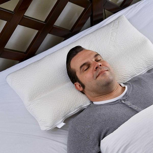 Nachtwächter Nacken-Komfort-Kissen NEA und NEA SOFT ergonomisch und variabel schräg seitlich