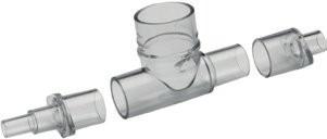 Aerogen (Aeroneb) Solo Pädiatrie T-Stück & Neonatal-Adapter