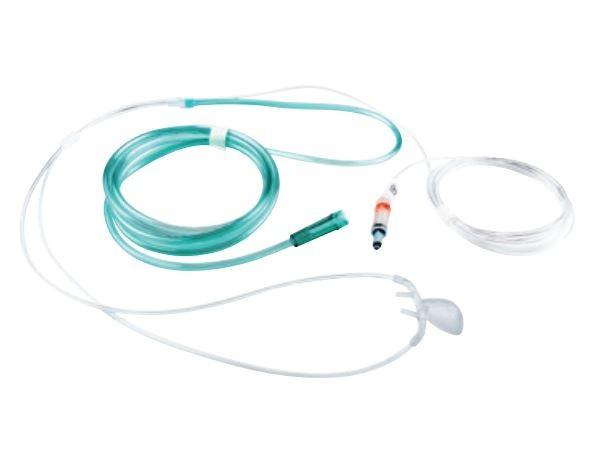 NomoLine LH CO2-Nasal-/Oralkanüle mit Sauerstoff