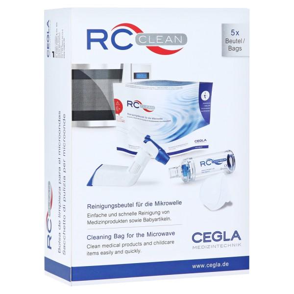 RC Clean Reinigungsbeutel für die Mikrowelle 5 Stück je Packung