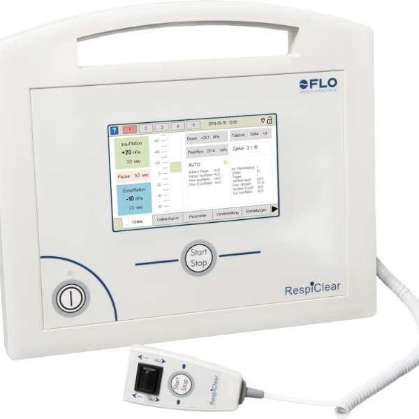 RespiClear Hustenassistent von Flo Medizintechnik