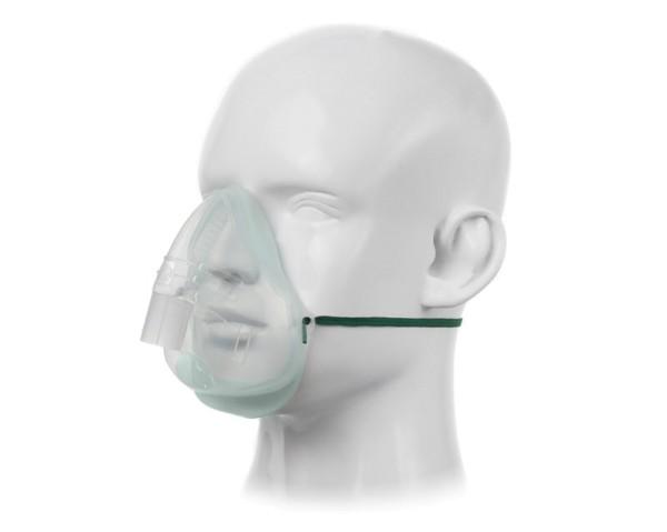 EcoLite Aerosolmaske Inhalationsmaske für Erwachsene PVC-frei 10 Stück
