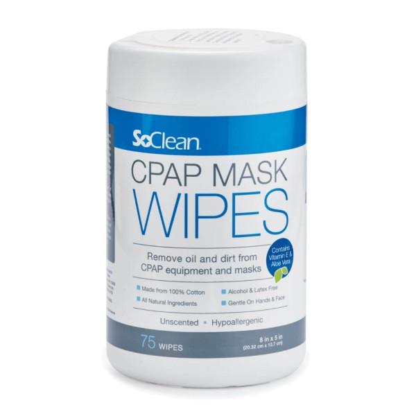 Original SoClean CPAP Reinigungstücher Tücher für die CPAP Maske