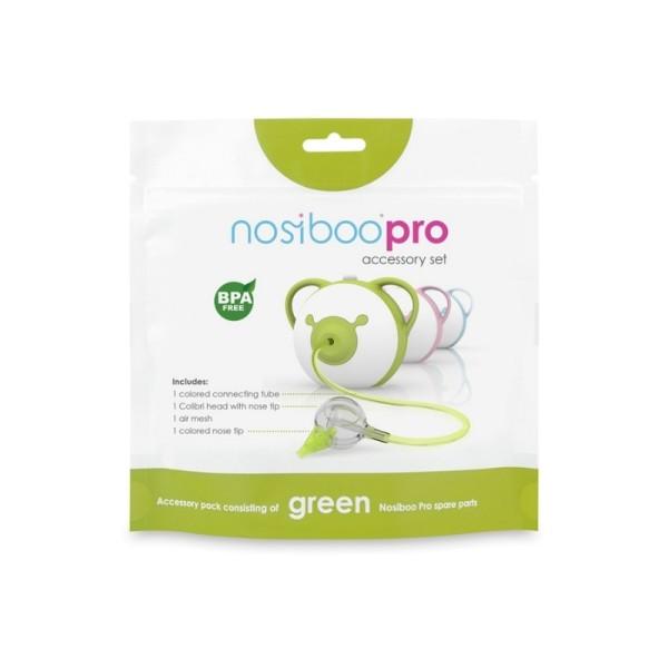 nosiboo Ersatz-Set Accessory Set für Nasensauger PRO in grün