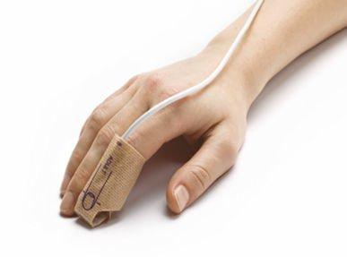 Klebesensor für Erwachsene Einsatz am Zeigefinger