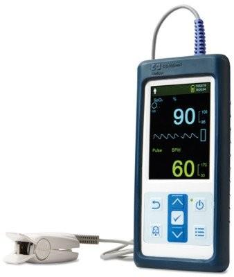 PM10N Nellcor Pulsoximeter mit Fingerclip