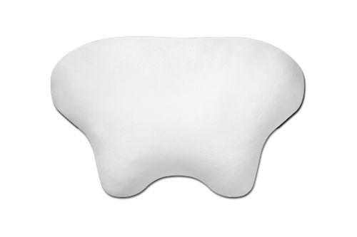 Kissenbezug aus Baumwolle weiss für CPAP und Seitenschläfer Komfortkissen Kopfkissen LINA