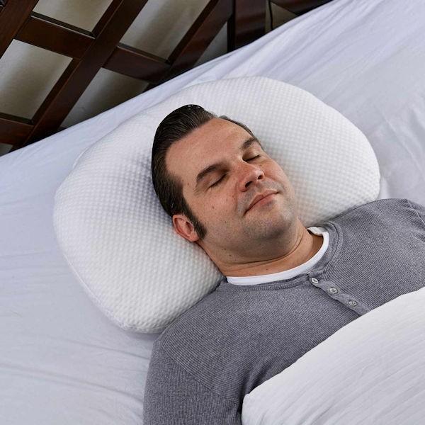 Nachtwächter Nacken-Komfort-Kissen 62x46 cm BOB oder BOB SOFT ergonomisch und variabel Rückenlage schräger