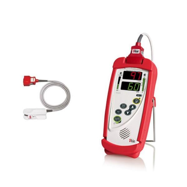 Masimo RAD-5 Pulsoximeter mit Erwachsenen Fingerclipsensor DCI-dc3
